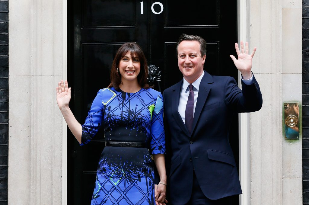 In Britain, it's Cameron… Again