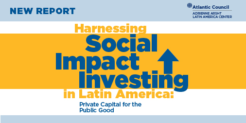 Harnessing social impact investing