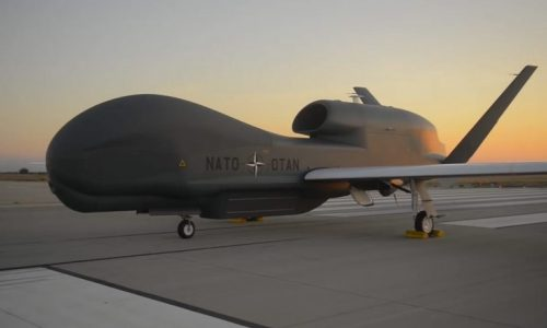 NATO's first unmanned air vehicle, June 4, 2015