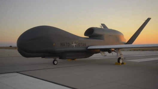 NATO's First Drone Rolls off Assembly Line