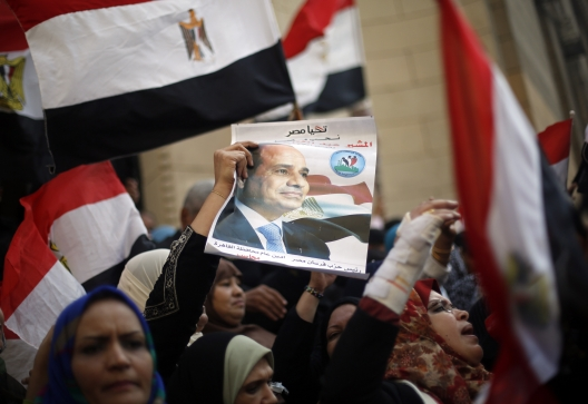 INFOGRAPHIC: Sisi's Approval Ratings over the Past Year