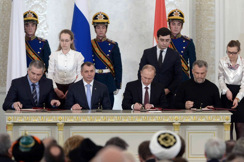 Putin Isn't Winging It