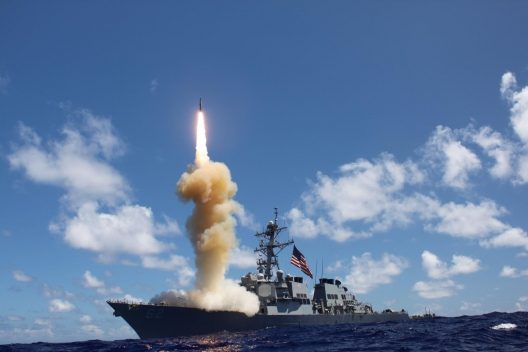 Missile defense test by the USS Fitzgerald, Oct. 24, 2012