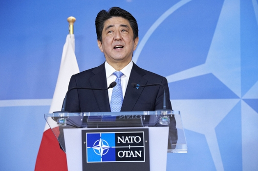 Japanese Prime Minister Shinzo Abe, May 6, 2014