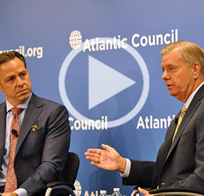 """Sen. Lindsey Graham on """"America's Role in the World"""""""