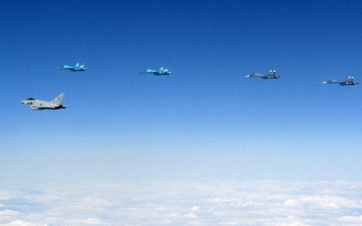 British Fighters Intercept Ten Russian Military Aircraft in One Mission