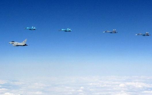RAF Typhoons Intercept Russian Jets, July 24, 2015