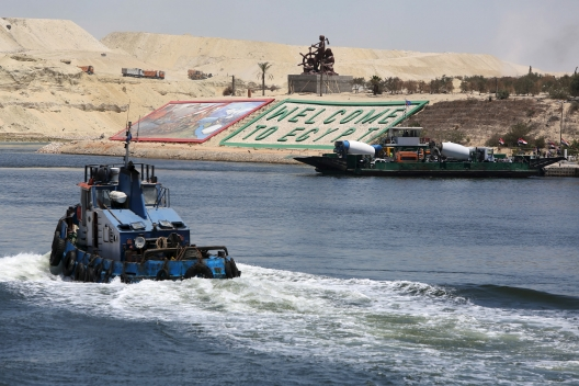 What is the Best Case Scenario for Egypt's New Suez Canal?