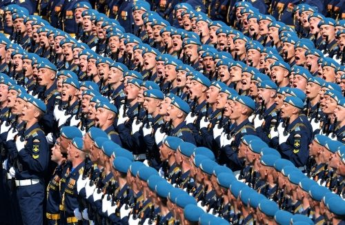 Military parade to mark 70th anniversary of victory in World War II, May 9, 2015