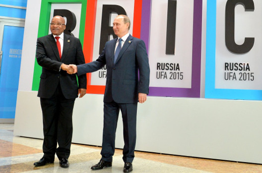 South Africa's Bizarro-World Foreign Policy