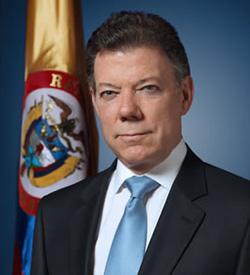 H.E. Juan Manuel Santos 2015 Global Citizen Award