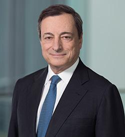 Dr. Mario Draghi, 2015 Global Citizen Award