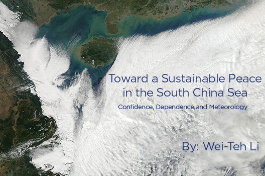 Toward a sustainable peace in the South China Sea