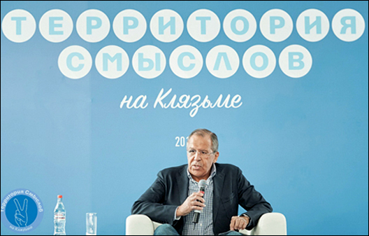 Mr. Lavrov Builds His Dream World