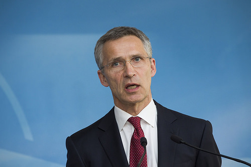 Secretary General Jens Stoltenberg, May 11, 2015