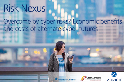 Risk Nexus: Overcome by cyber risks? Economic benefits and costs of alternate cyber futures