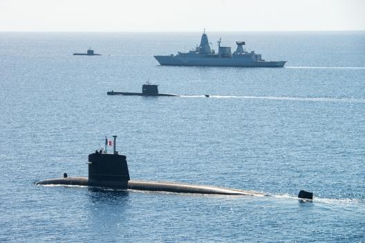 NATO Conducting Major Submarine Exercise in the Mediterranean