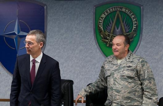 Secretary General Jens Stoltenberg and SACEUR Gen. Philip Breedlove, May 11, 2015