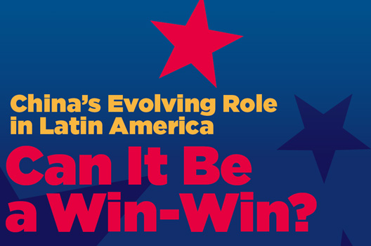 China's evolving role in Latin America: Can it Be a win-win?