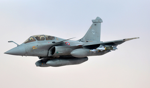 French Rafale jet, March 17, 2013