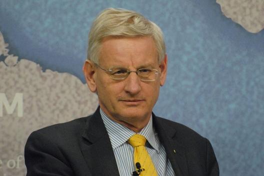 Former Prime Minister of Sweden Carl Bildt, Feb. 13, 2015