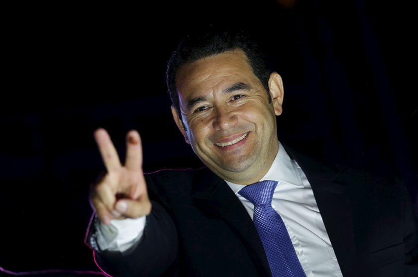 Guatemala's New President Faces His Biggest Challenge: Governing