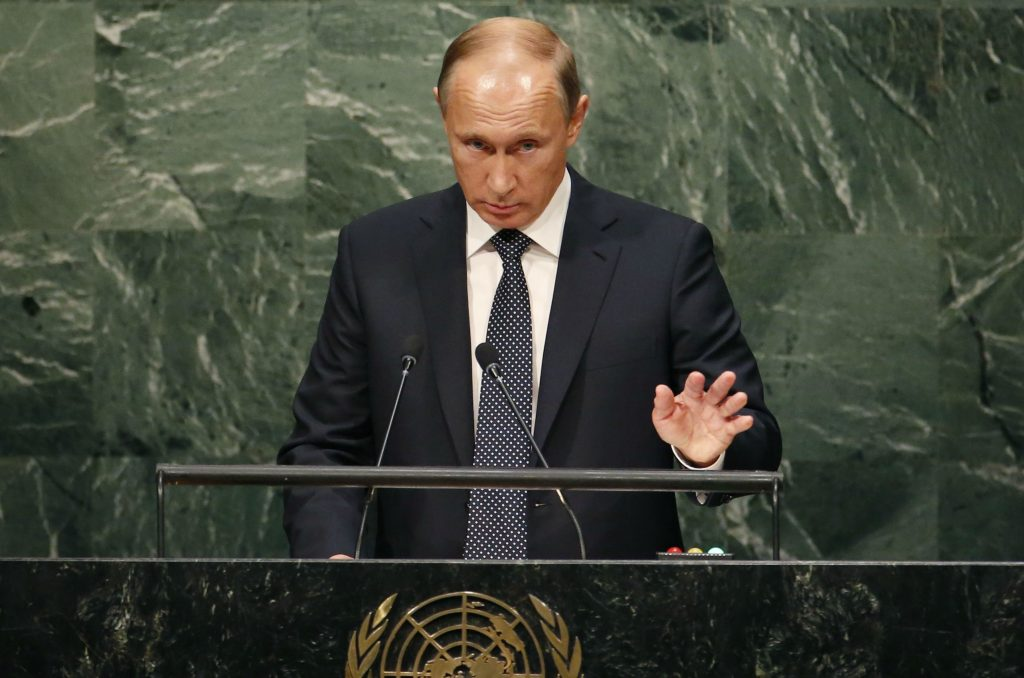 Putin's Goal is a New Yalta