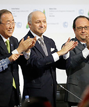 COP21 Fabius Hollande Ban 2015Feature  EOY2015