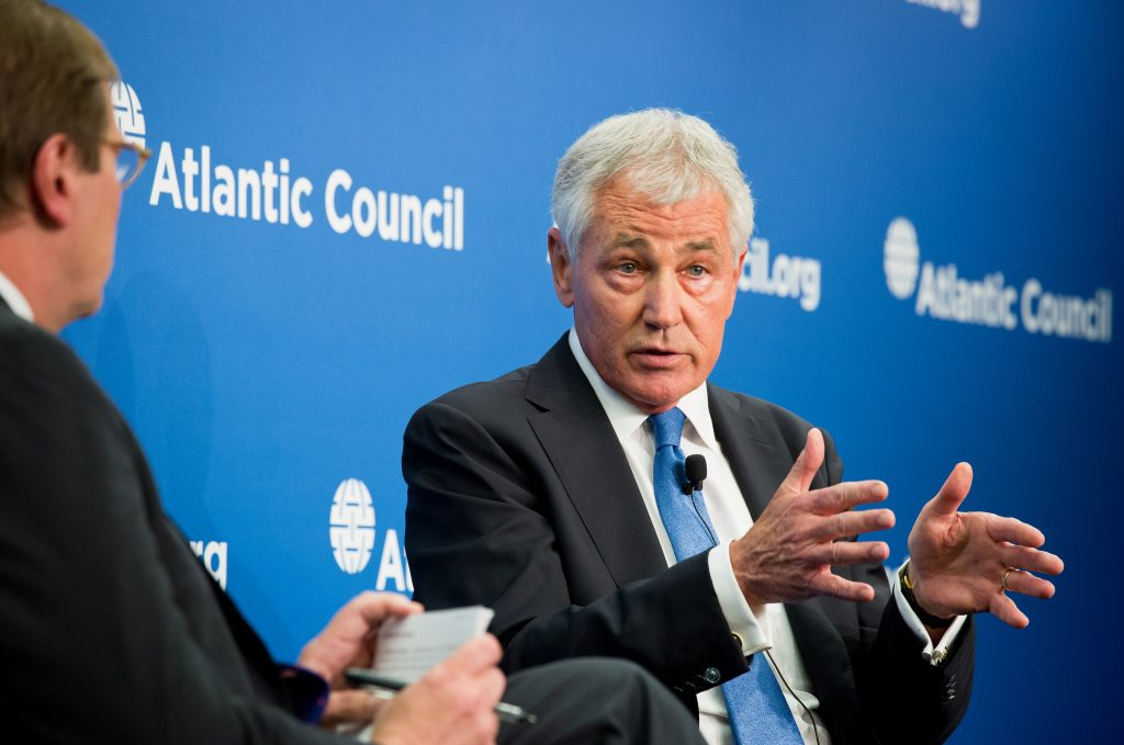 US' Syria Policy 'Paralyzed' by Rhetoric that Assad Must Go, Says Hagel