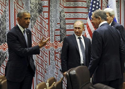 Washington and Moscow: A Secret Handshake?
