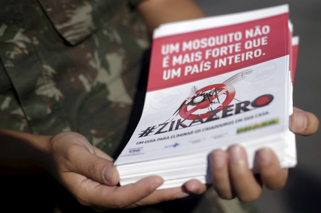 A Mosquito Adds to Brazilian President's Woes