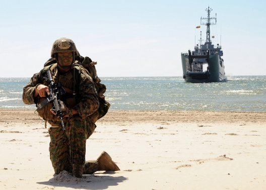 US Marine in BALTOPS, June 14, 2012