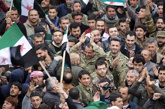 Protests Sweep Across Syria During Ceasefire