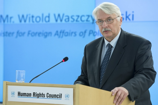 Polish Foreign Minister Witold Waszczykowski, March 2, 2016