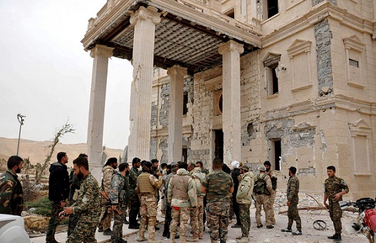 On the Capture of Palmyra