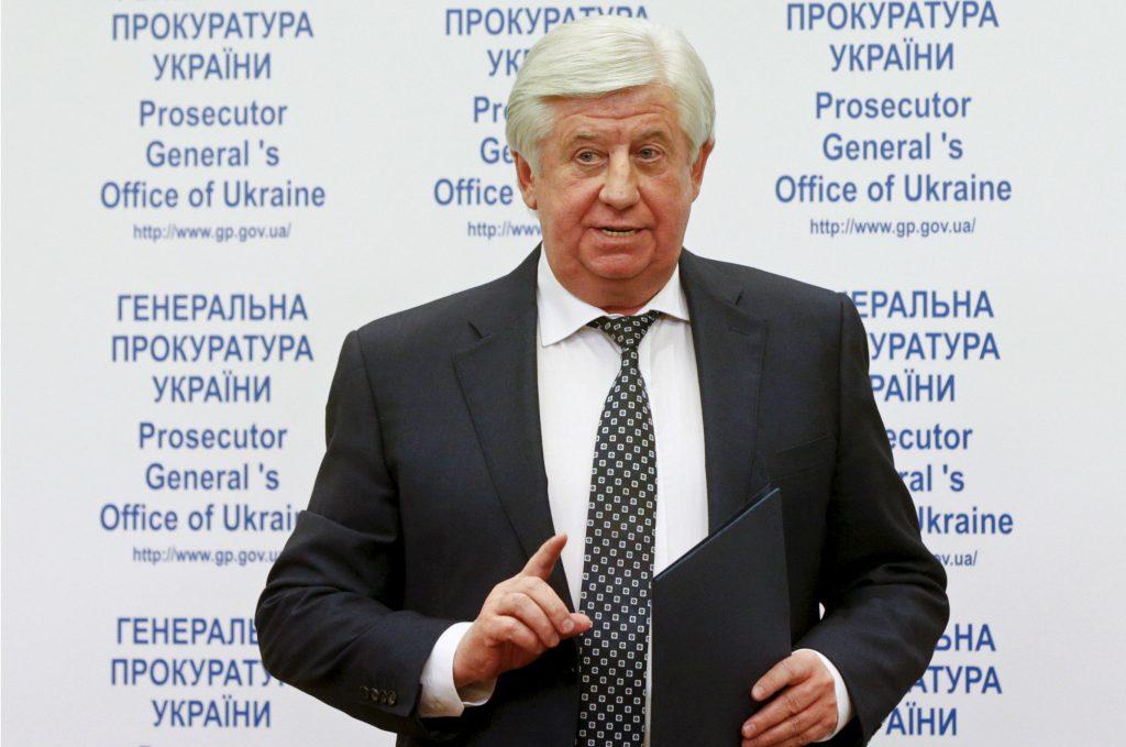Shokin's Revenge: Ukraine's Odious Prosecutor General Fires Honest Deputy Before Parliament Sacks Him