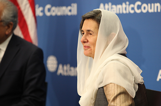 The new Afghanistan: A conversation with Rula Ghani