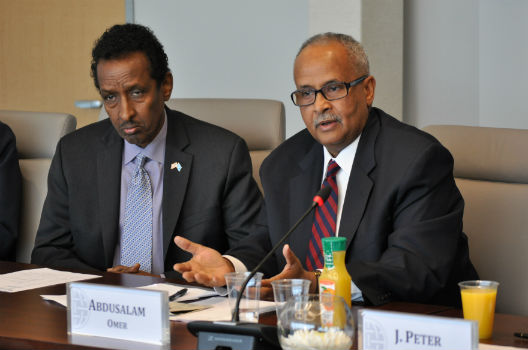 Roundtable Discussion with the Foreign Minister of Somalia