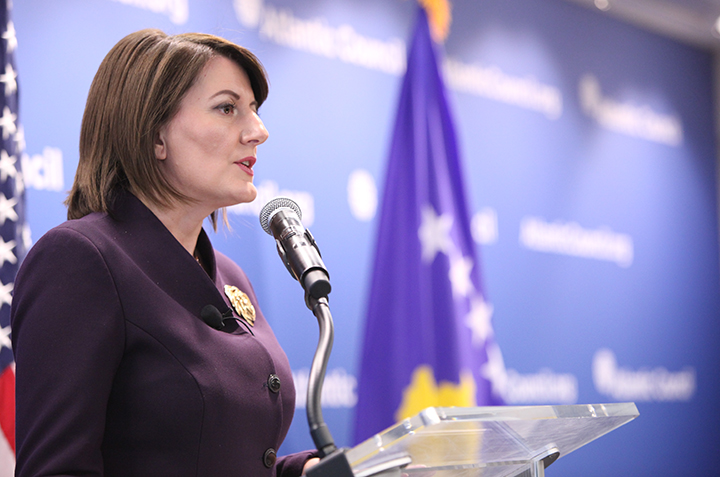 On Brussels Bombings: 'The Moment Has Come When We Need to Act,' says Kosovo's President Atifete Jahjaga