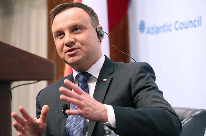 Poland's President Seeks Stronger NATO Presence in Europe's East