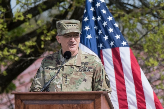 NATO's New Commander: 'Ready To Fight If Deterrence Fails'
