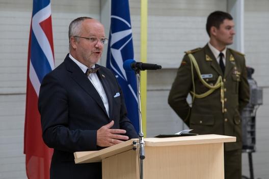 Lithuanian Defense Minister Juozas Olekas, August 31, 2015