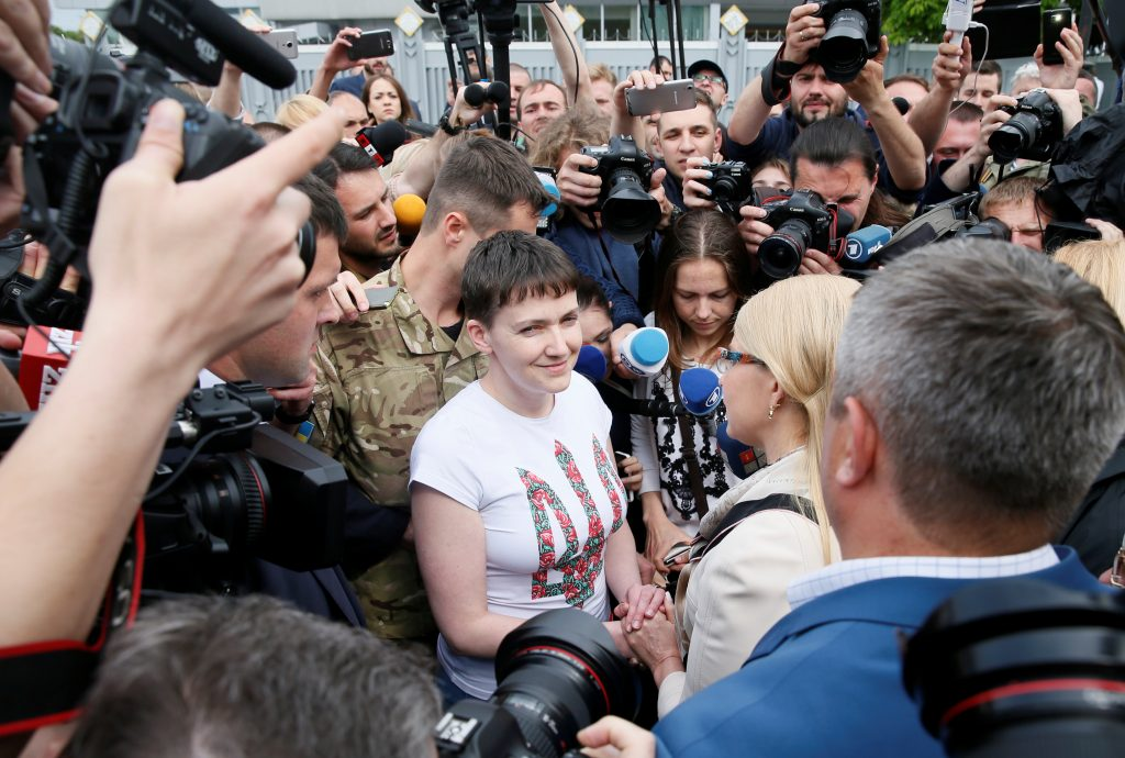 Savchenko's Return May Unleash Political Earthquake in Ukraine