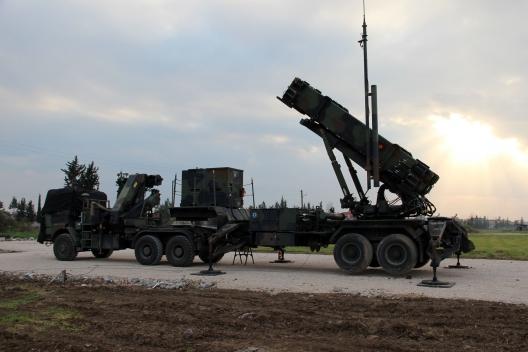 Dutch Patriot battery deployed in Turkey, Jan. 25, 2013
