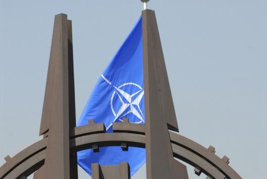 Flag at NATO headquarters