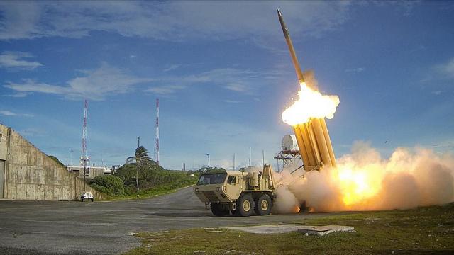 Terminal High Altitude Area Defense (THAAD) interceptor test, Sept. 10, 2013