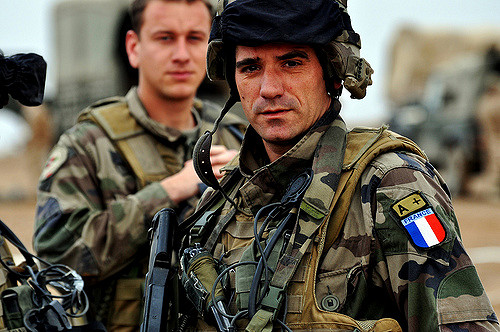 French soldier in Afghanistan, Feb. 7, 2010