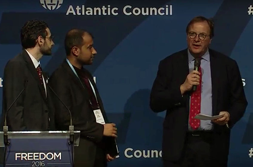 Atlantic Council Honors Champions of Freedom