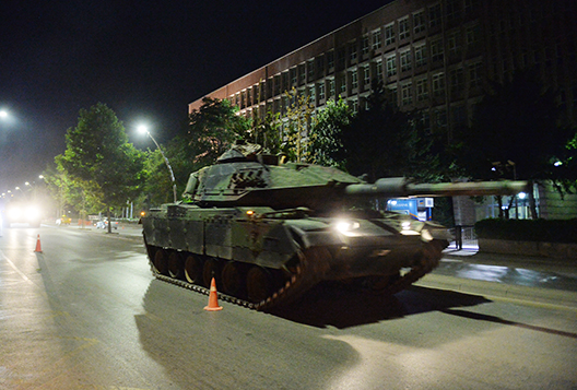 The Fracturing of Turkey's Military