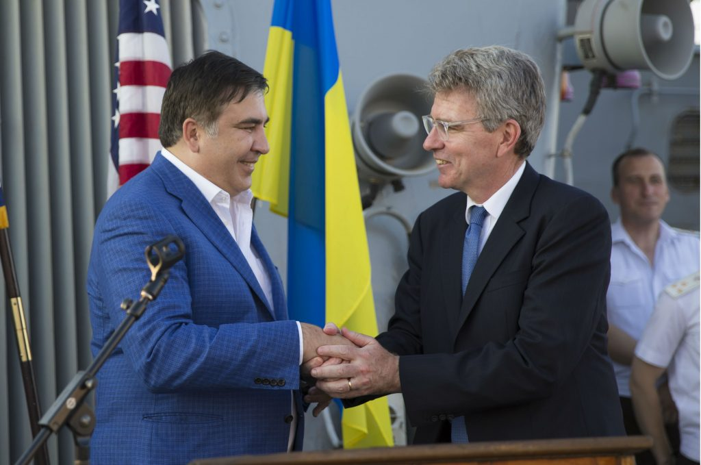 Saakashvili in Odesa: When Making Waves is Not Enough